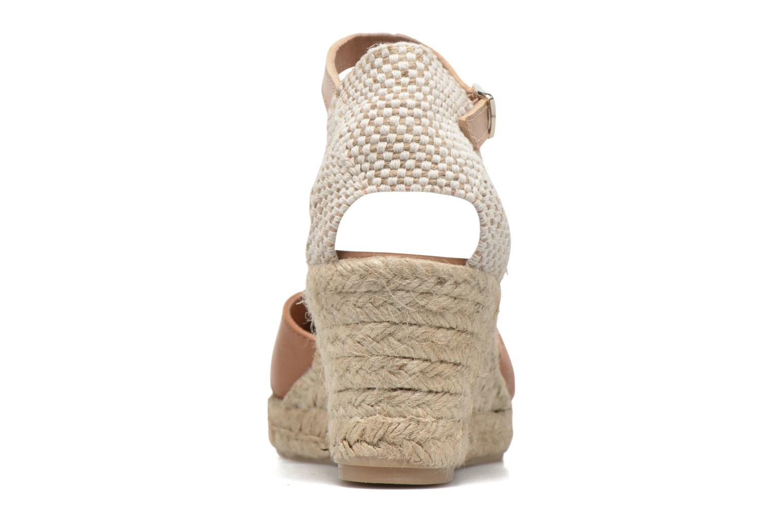 Sandales et nu-pieds Maypol Lola Marron vue droite