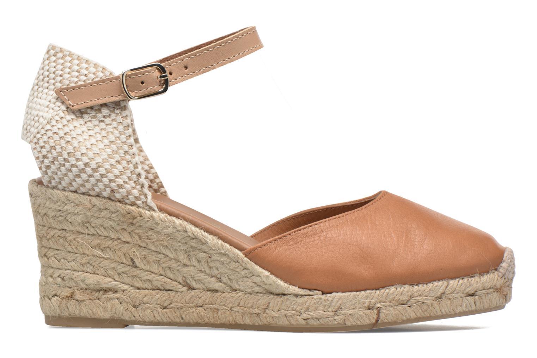 Sandales et nu-pieds Maypol Lola Marron vue derrière