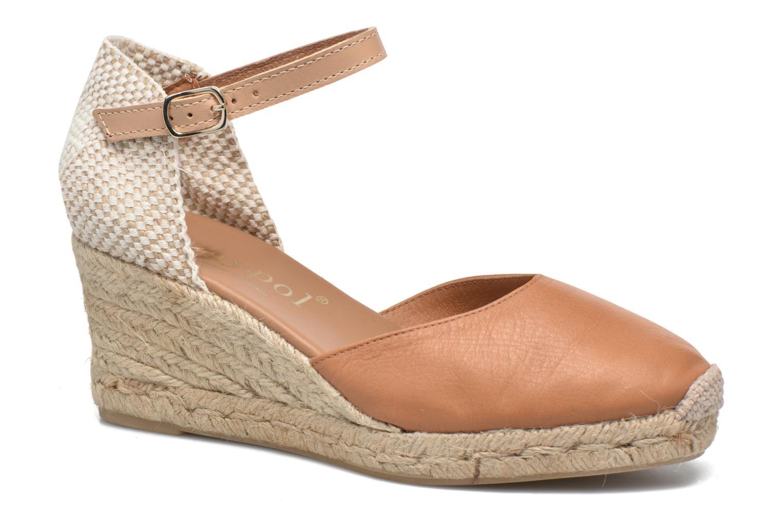 Sandales et nu-pieds Maypol Lola Marron vue détail/paire