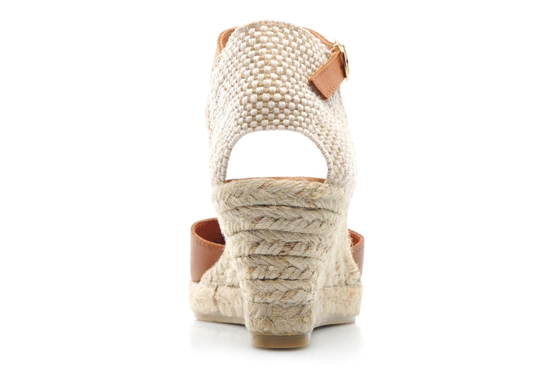 Sandales et nu-pieds Maypol Luz Marron vue droite