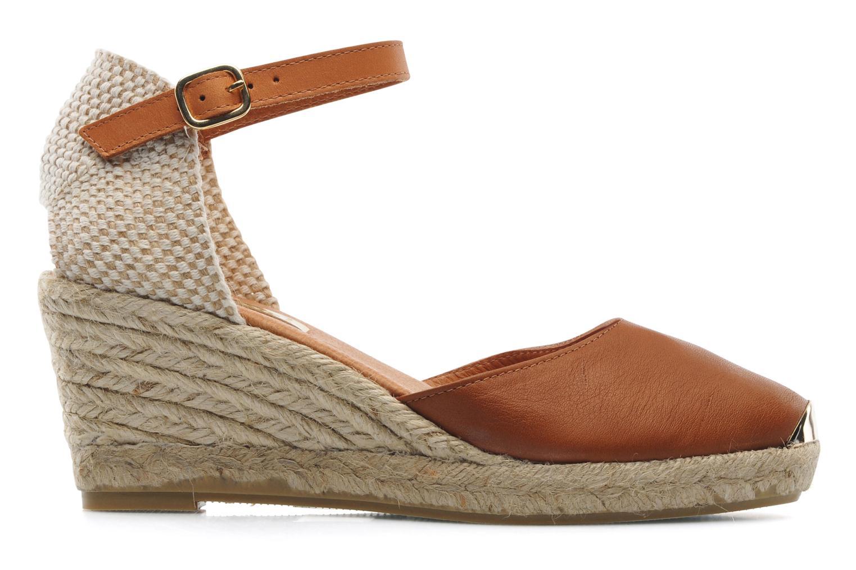 Sandales et nu-pieds Maypol Luz Marron vue derrière