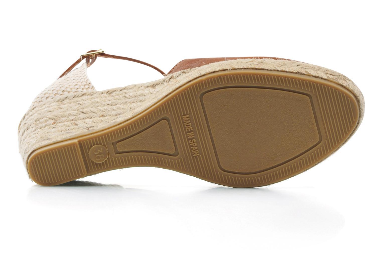 Sandales et nu-pieds Maypol Luz Marron vue haut