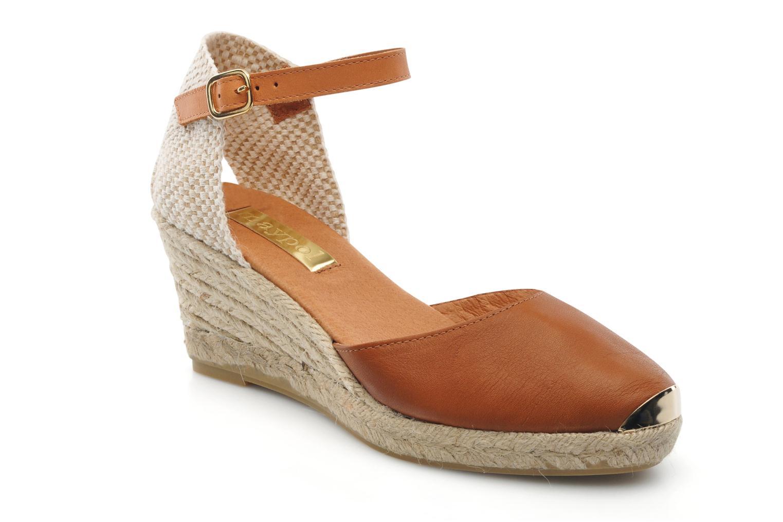 Sandales et nu-pieds Maypol Luz Marron vue détail/paire