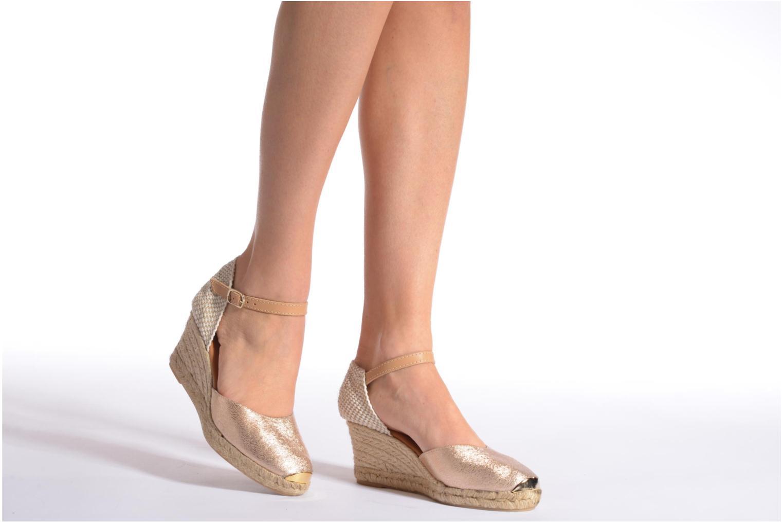 Sandali e scarpe aperte Maypol Luz Oro e bronzo immagine dal basso