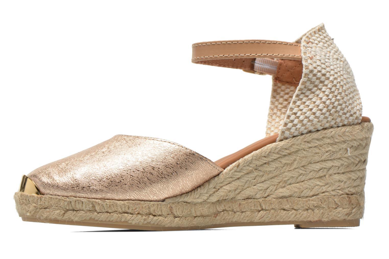 Sandali e scarpe aperte Maypol Luz Oro e bronzo immagine frontale