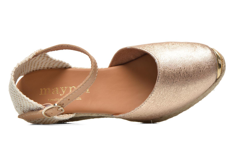 Sandali e scarpe aperte Maypol Luz Oro e bronzo immagine sinistra