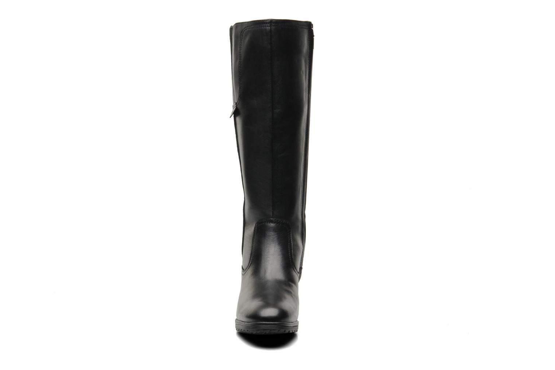 Bottes Geox D Hennie A D44Y3A Noir vue portées chaussures