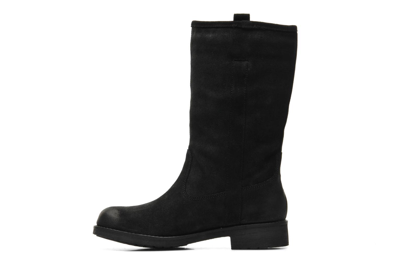 Bottines et boots Geox D Virna B ABX A D44N5A Noir vue face