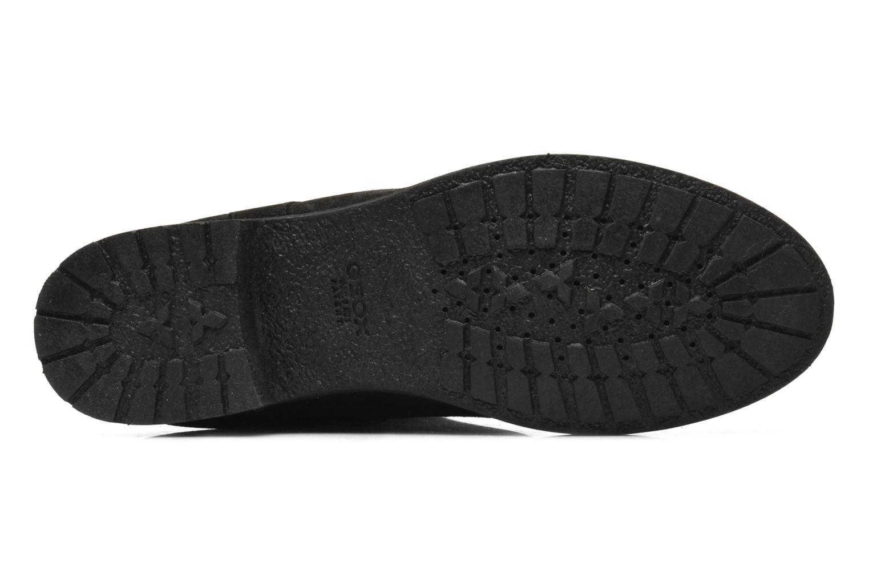 Bottines et boots Geox D Virna B ABX A D44N5A Noir vue haut