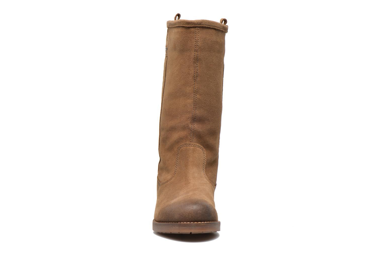 Bottines et boots Geox D Virna B ABX A D44N5A Marron vue portées chaussures