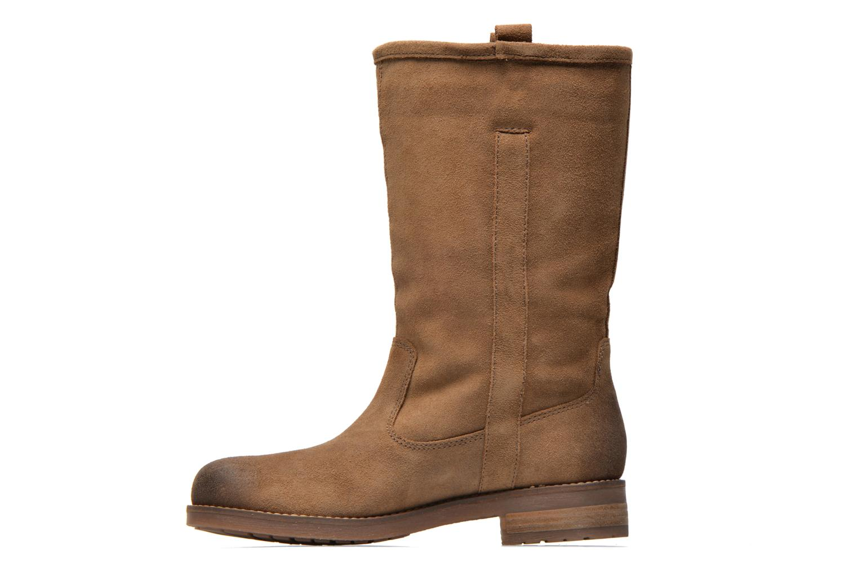 Bottines et boots Geox D Virna B ABX A D44N5A Marron vue face