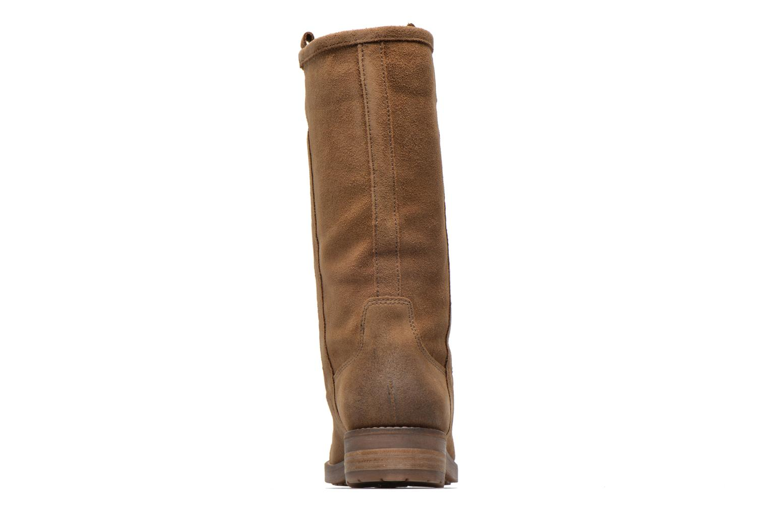 Ankle boots Geox D Virna B ABX A D44N5A Brown view from the right
