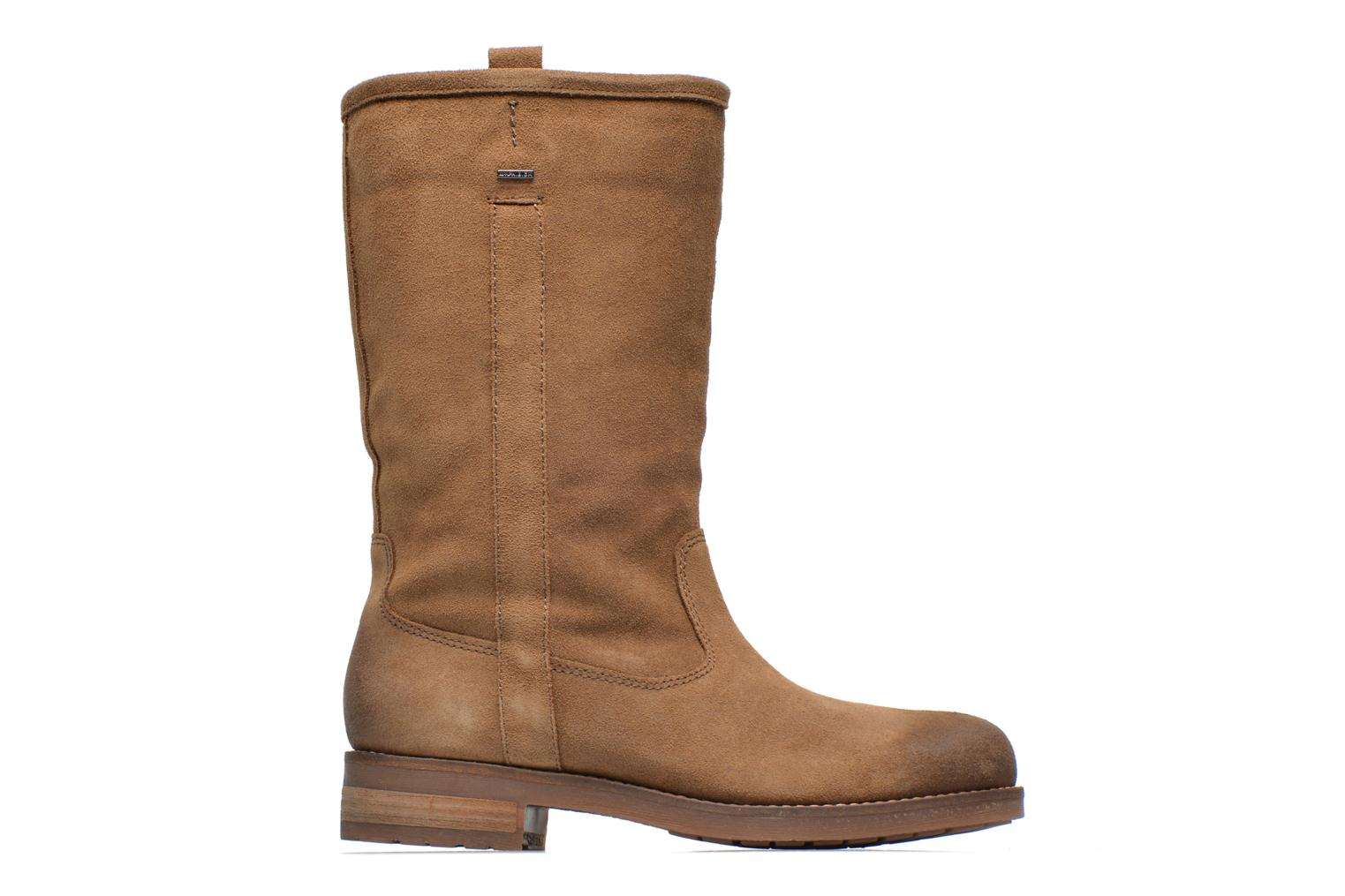 Ankle boots Geox D Virna B ABX A D44N5A Brown back view