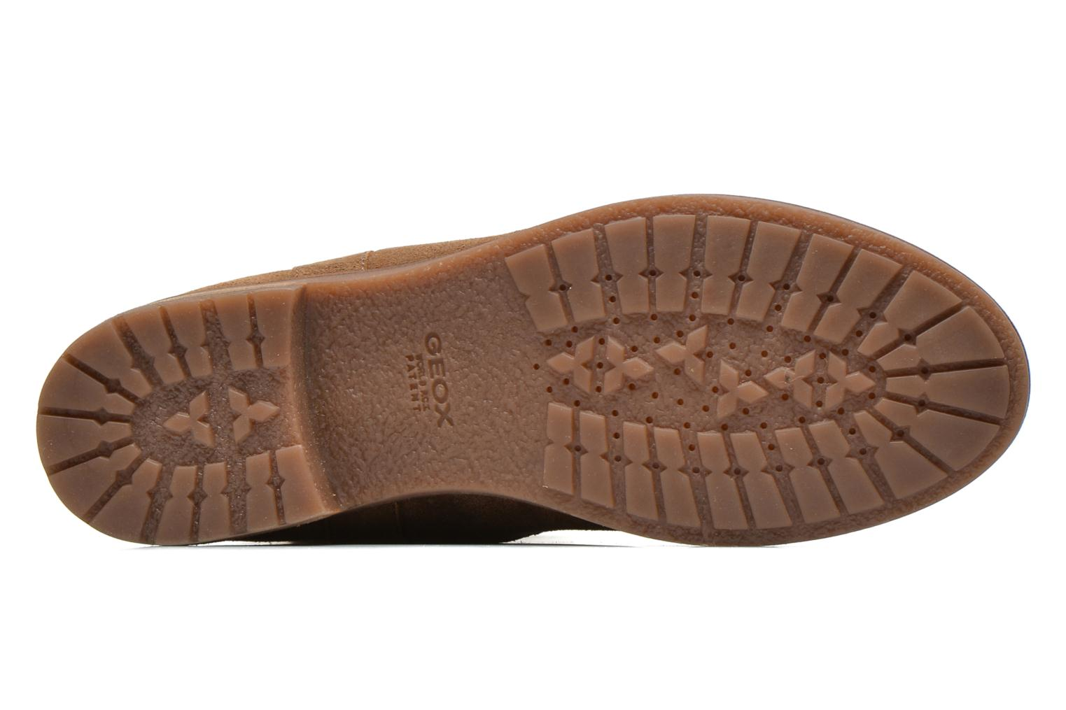 Ankle boots Geox D Virna B ABX A D44N5A Brown view from above
