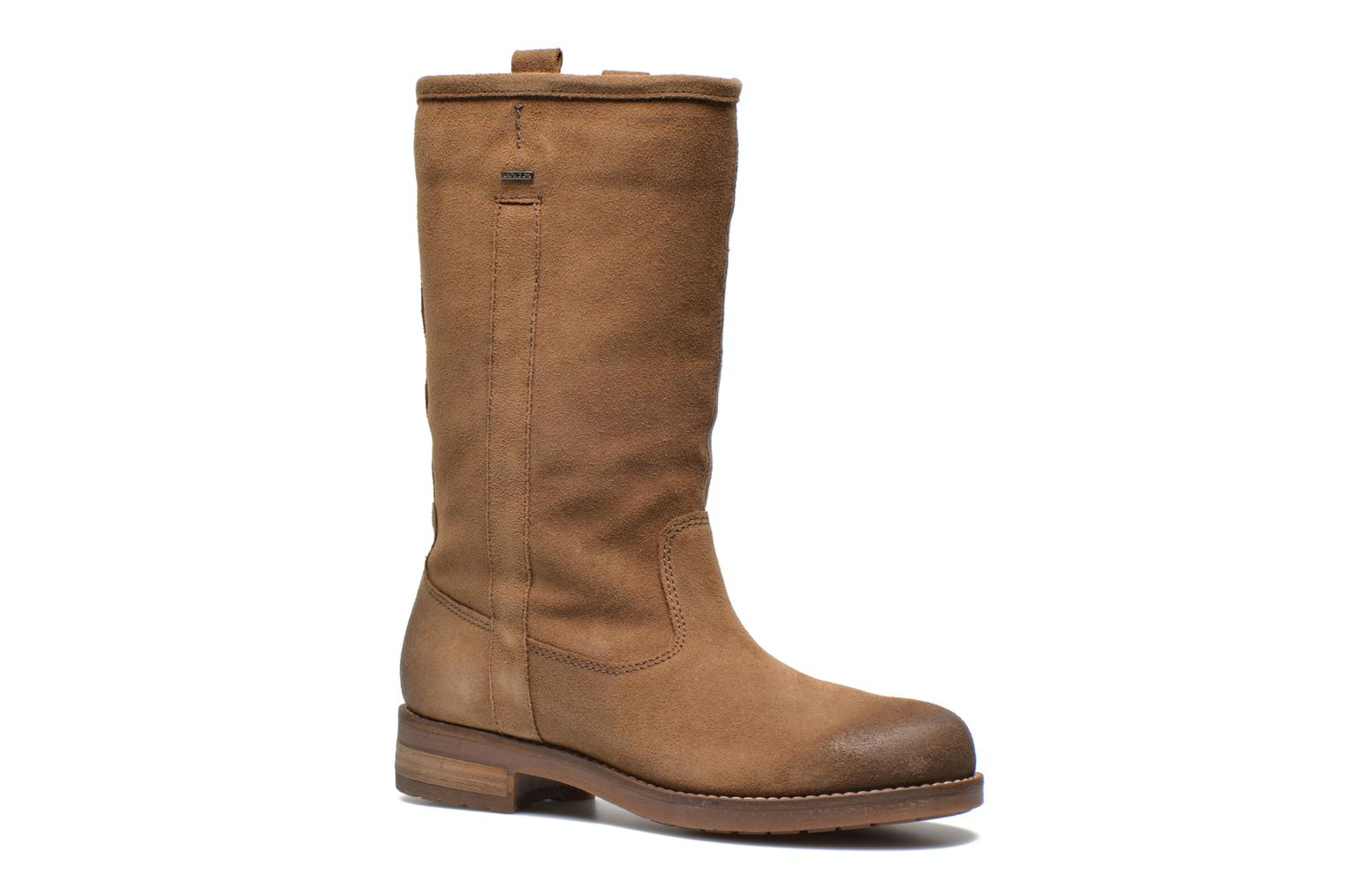 Ankle boots Geox D Virna B ABX A D44N5A Brown detailed view/ Pair view