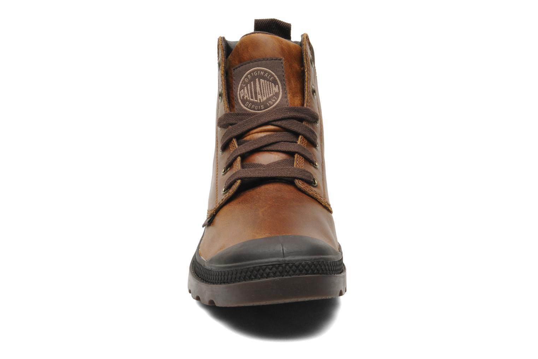 Boots en enkellaarsjes Palladium Pampa Hi Cufl H Bruin model