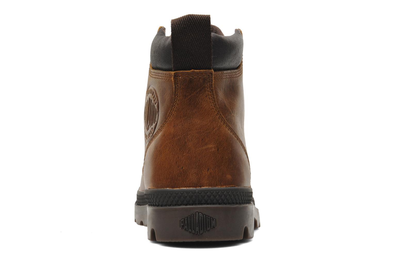 Boots en enkellaarsjes Palladium Pampa Hi Cufl H Bruin rechts