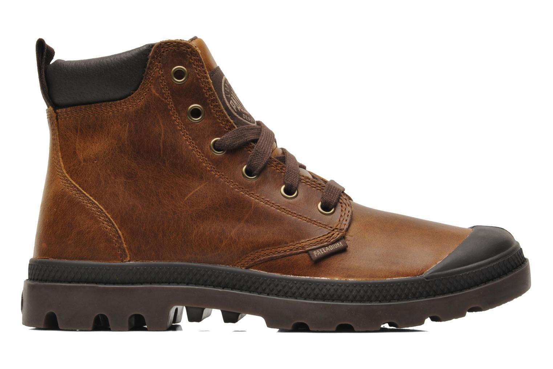 Boots en enkellaarsjes Palladium Pampa Hi Cufl H Bruin achterkant