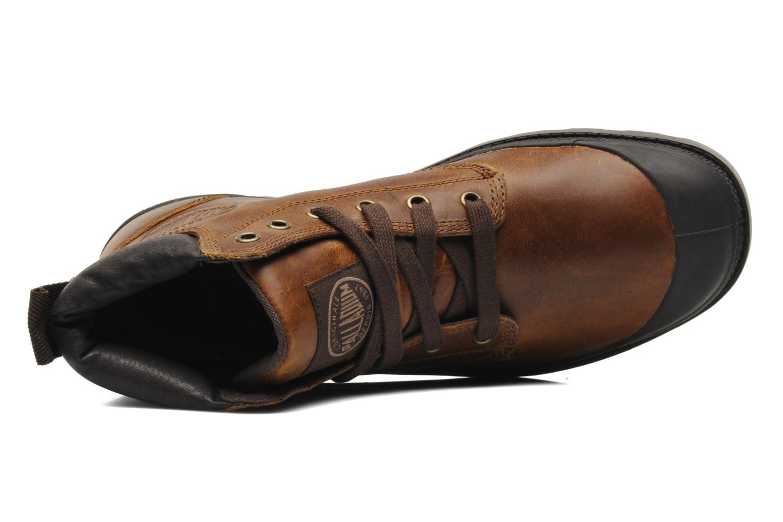 Boots en enkellaarsjes Palladium Pampa Hi Cufl H Bruin links
