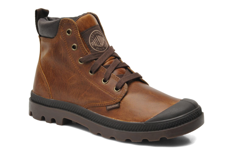 Boots en enkellaarsjes Palladium Pampa Hi Cufl H Bruin detail