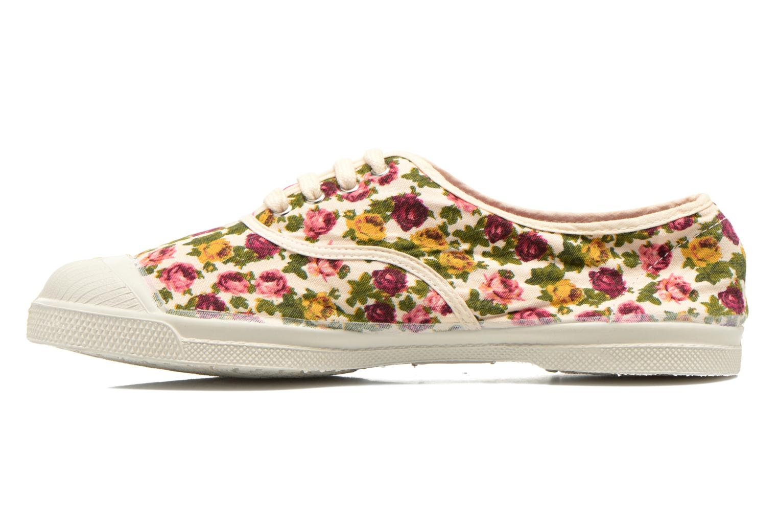 Trainers Bensimon Tennis Paco Chicano Fleurs Multicolor front view