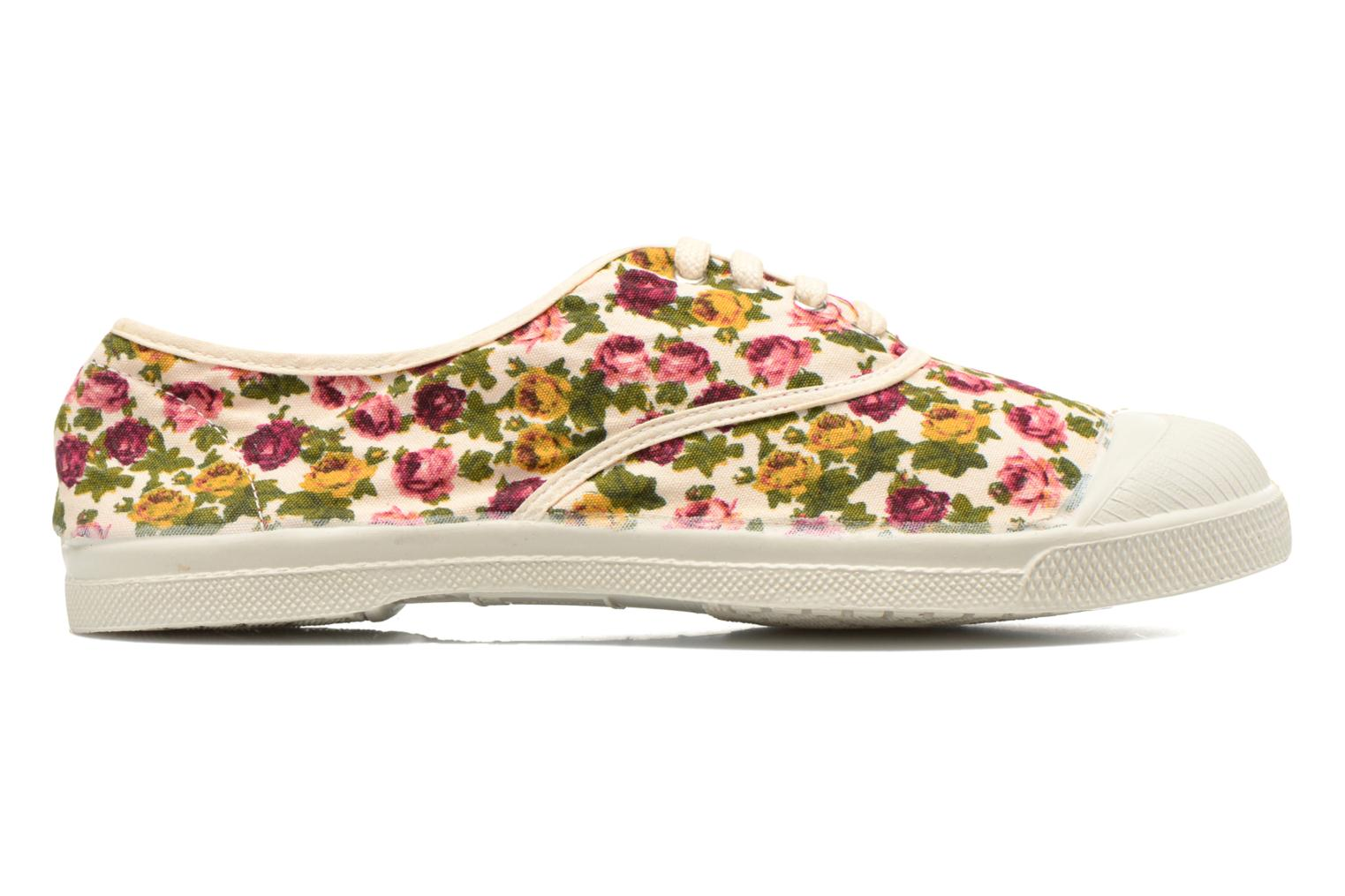 Trainers Bensimon Tennis Paco Chicano Fleurs Multicolor view from the right