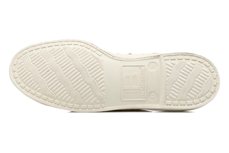 Sneakers Bensimon Tennis Paco Chicano Fleurs Multi bild från ovan