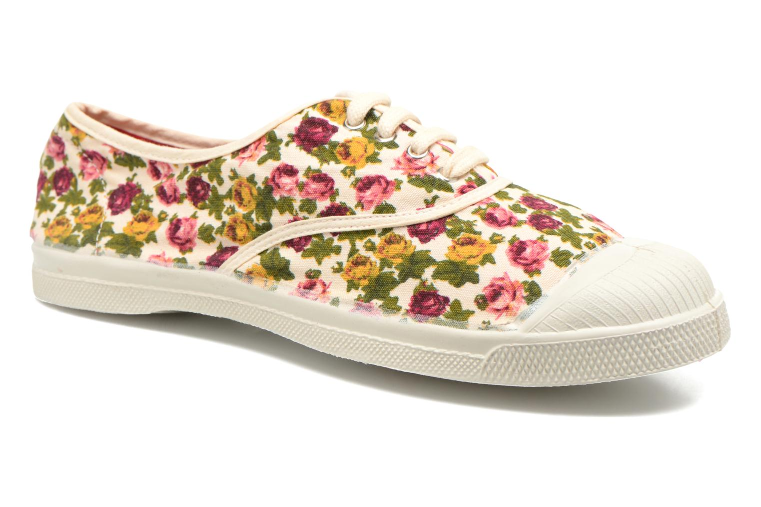 Tennis Paco Chicano Fleurs Off white