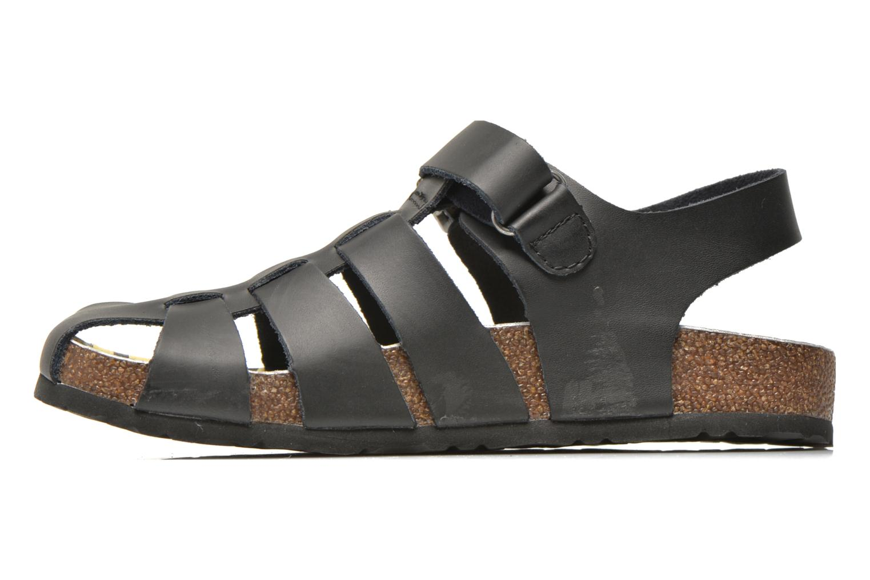 Sandales et nu-pieds Kickers MAGIFLO Noir vue face