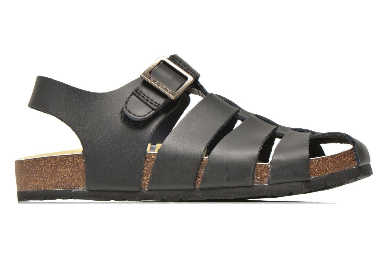Sandales et nu-pieds Kickers MAGIFLO Noir vue derrière