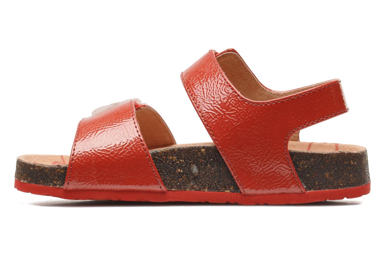 Sandalen Kickers MAGILOVE rot ansicht von vorne