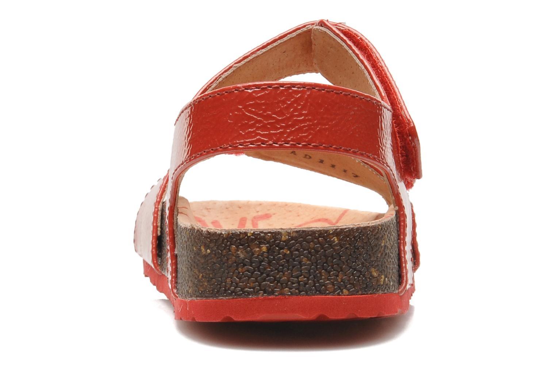 Sandalen Kickers MAGILOVE rot ansicht von rechts