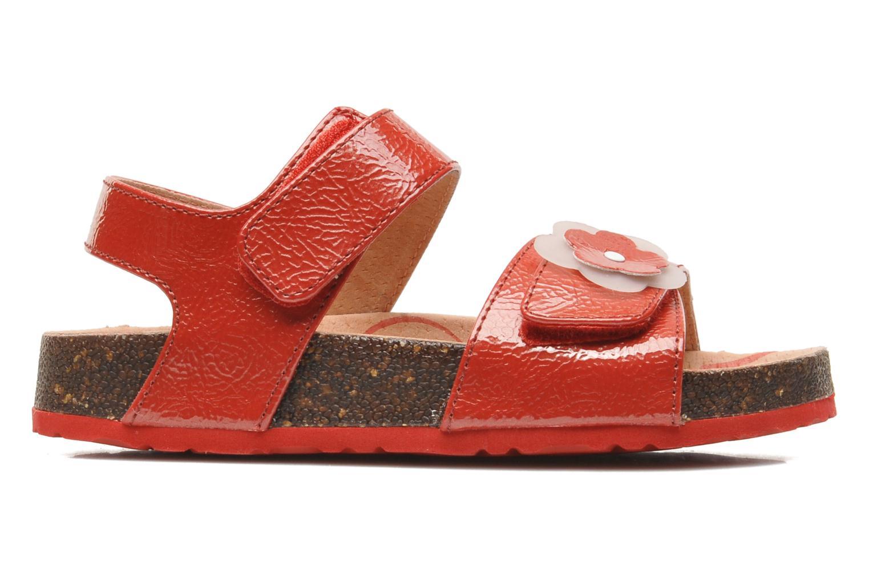 Sandalen Kickers MAGILOVE rot ansicht von hinten