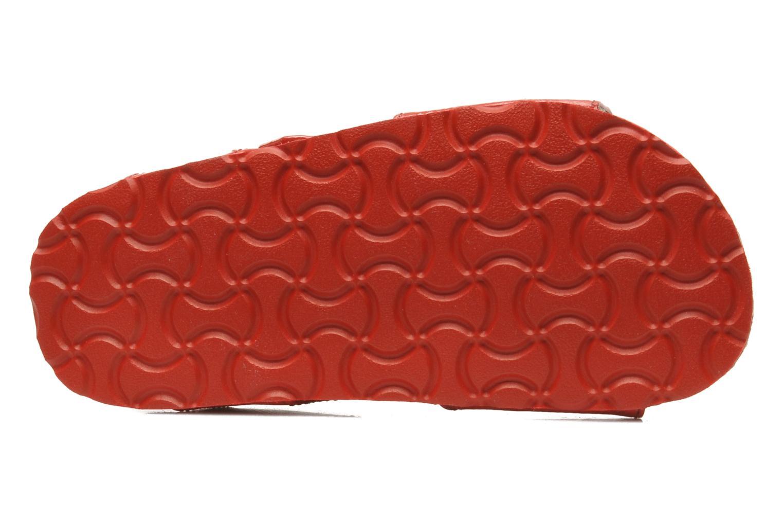 Sandalen Kickers MAGILOVE rot ansicht von oben