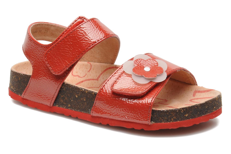 Sandalias Kickers MAGILOVE Rojo vista de detalle / par