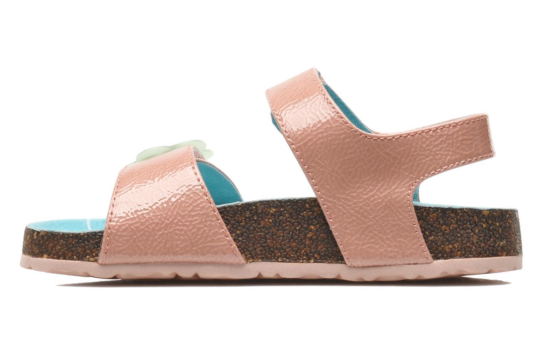 Sandalen Kickers MAGILOVE rosa ansicht von vorne