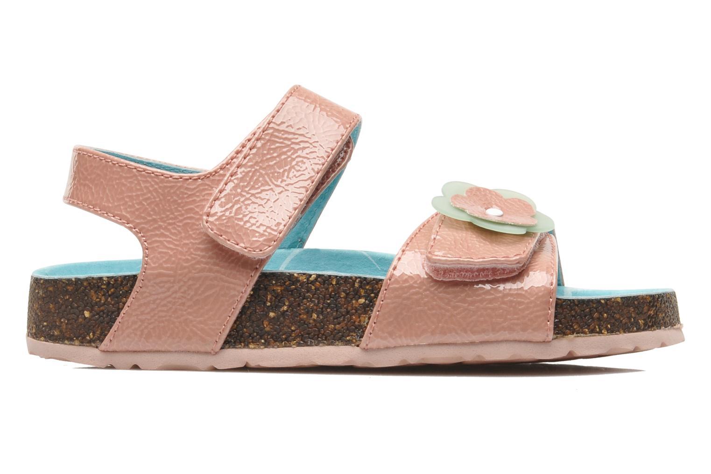 Sandalen Kickers MAGILOVE rosa ansicht von hinten