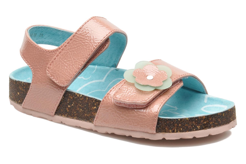 Sandales et nu-pieds Kickers MAGILOVE Rose vue détail/paire