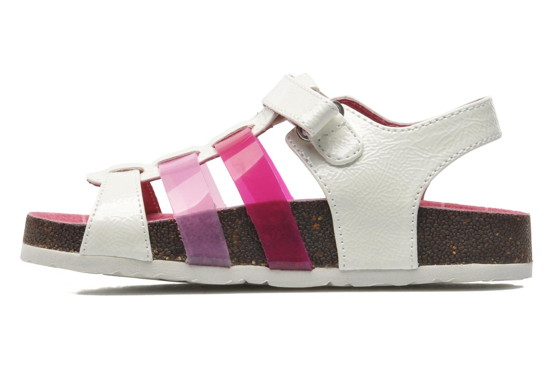 Sandales et nu-pieds Kickers MAGIPLAY Blanc vue face