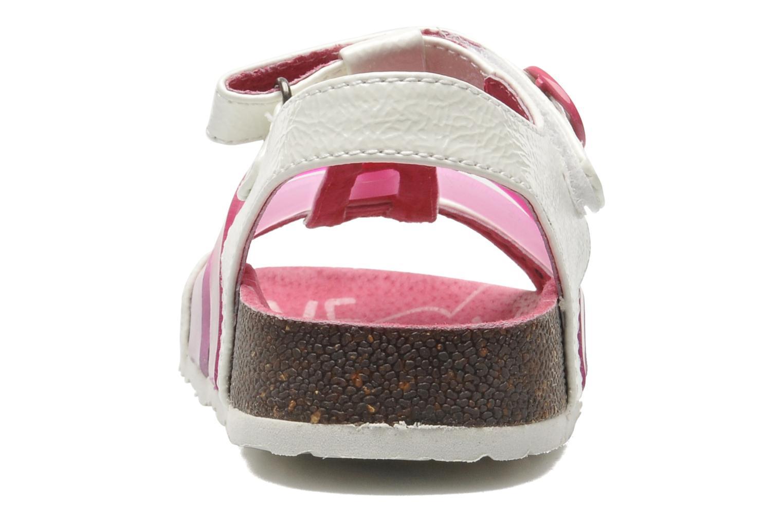 Sandales et nu-pieds Kickers MAGIPLAY Blanc vue droite