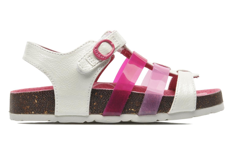 Sandales et nu-pieds Kickers MAGIPLAY Blanc vue derrière