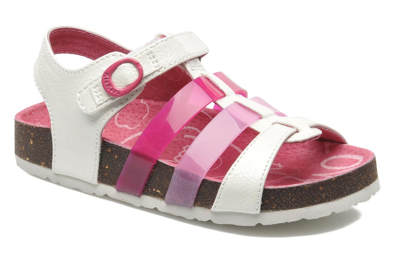 Sandales et nu-pieds Kickers MAGIPLAY Blanc vue détail/paire