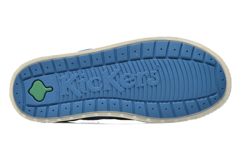 Schoenen met klitteband Kickers ZIGUERO Blauw boven