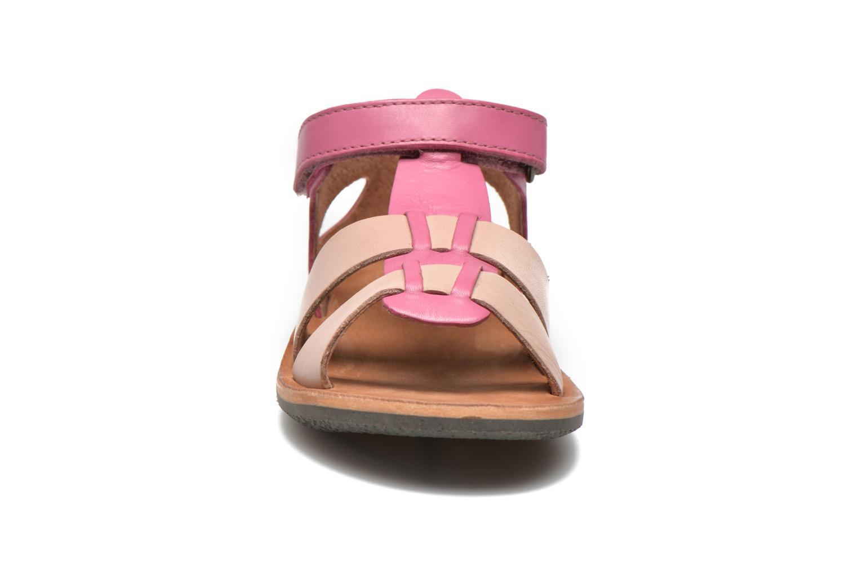 Sandalen Kickers SPAZZO beige schuhe getragen