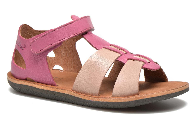 Sandalen Kickers SPAZZO beige detaillierte ansicht/modell