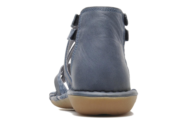 Sandales et nu-pieds Kickers EVITA Bleu vue droite