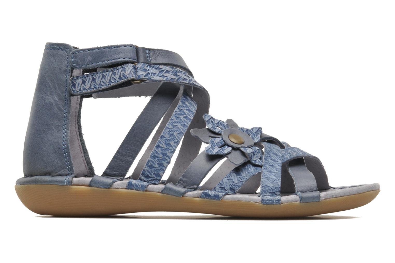 Sandales et nu-pieds Kickers EVITA Bleu vue derrière