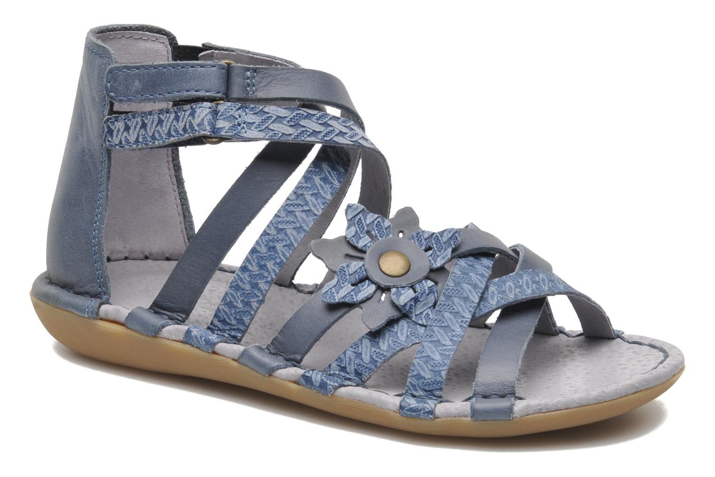 Sandales et nu-pieds Kickers EVITA Bleu vue détail/paire