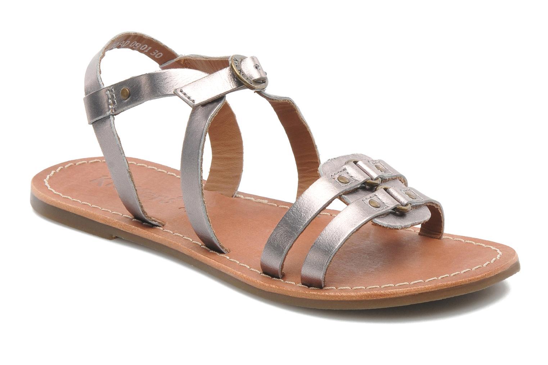 Sandalen Kickers DIXNEUF silber detaillierte ansicht/modell