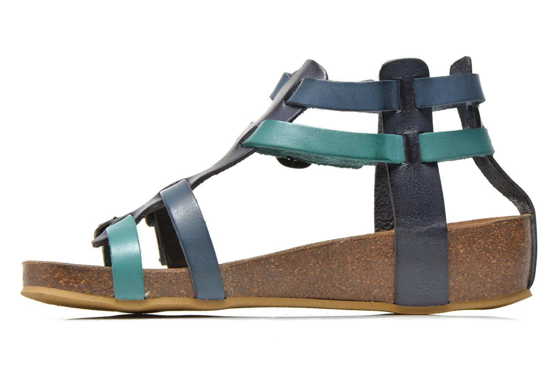 Sandalen Kickers BOMDIA blau ansicht von vorne